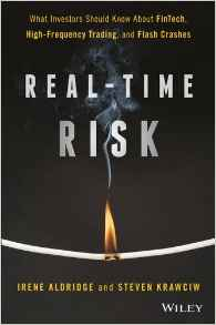 @IreneAldridge and Steve Krawciw's new book, #RealTime #Risk (@realtimerisk) is out!